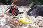 Bob Hathcock, Cheoah River, NC.  Copyright Chris Bell.  Click for larger image.