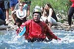 Dan Guthrie, Cowbell Rapid, Nolichucky River, TN.  Click for larger image.