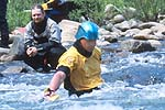 Nathan Mills, Cowbell Rapid, Nolichucky River, TN.  Click for larger image.