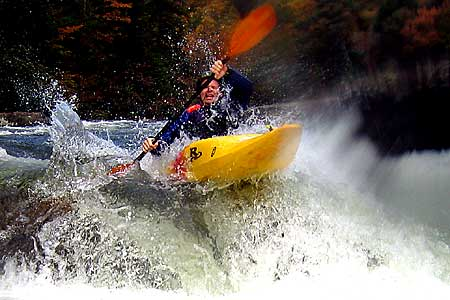Boof!, Matt Buys, Upper Gauley (WV).  Copyright Chris Bell.