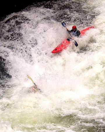 Head-to-Head Action, Power Slide, Unknown, Green Narrows (NC).  Copyright Chris Bell.