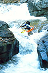 Eli Helbert Headed for the Notch, Green River Narrows, NC.  Click for larger image.