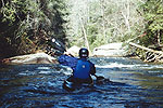 Derek Dephouse, Upper Green River, NC.  Copyright Chris Bell.  Click for larger image.